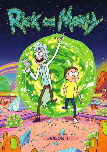 Rick and Morty - Season 1 (2 DVDs)