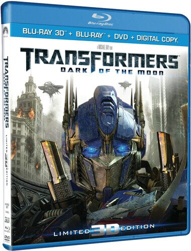 Transformers 3 - Dark of the Moon (2011) (Blu-ray 3D (+2D) + DVD)