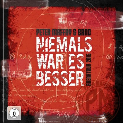 Peter Maffay & Band - Niemals war es besser - Arenatour 2015 (Limited Edition, Mediabook, 2 DVDs + Blu-ray)