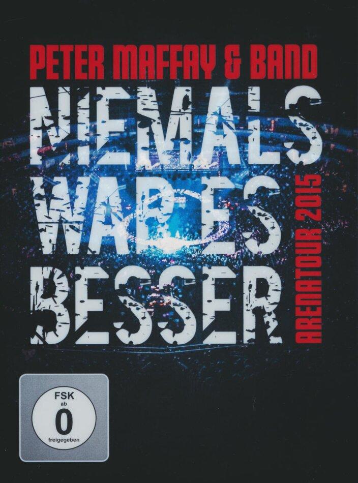 Peter Maffay & Band - Niemals war es besser - Arenatour 2015 (Limited Edition, 2 DVDs)