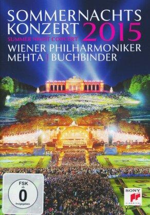 Wiener Philharmoniker, Zubin Mehta, … - Sommernachtskonzert Schönbrunn 2015 (Sony Classical)