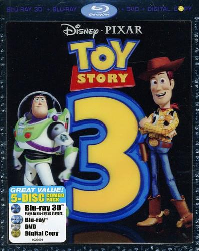 Toy Story 3 (2010) (Blu-ray 3D (+2D) + DVD)