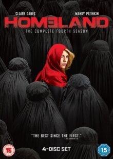 Homeland - Season 4 (4 DVDs)