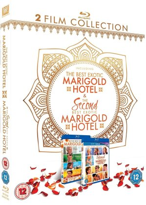 The Best Exotic Marigold Hotel / The Second Best Exotic Marigold Hotel (2 Blu-rays)