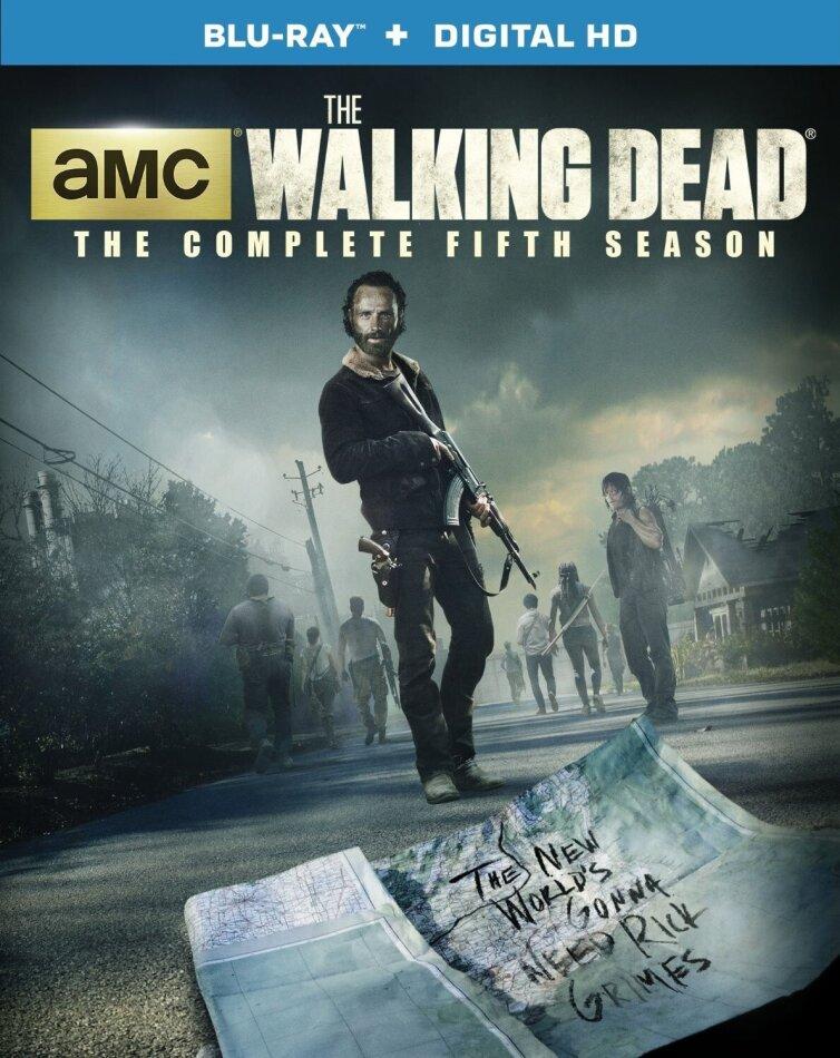 The Walking Dead - Season 5 (5 Blu-rays)