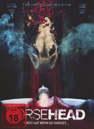 Horsehead - Wach auf, wenn du kannst... (2014) (Collector's Edition, Limited Edition, Mediabook, Blu-ray + 2 DVDs)