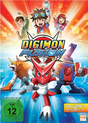 Digimon Fusion - Volume 1, Episoden 1-15 (3 DVDs)