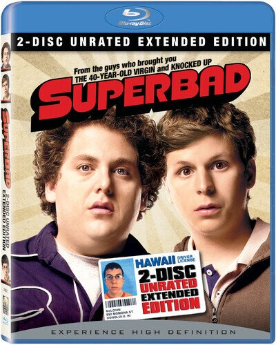 Superbad 2007 Extended Edition Unrated 2 Blu Rays Cede Com