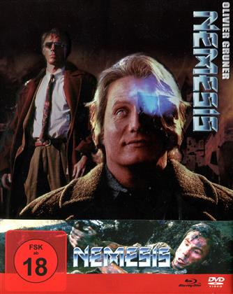 Nemesis (1992) (FuturePak, Limited Edition, Remastered, Uncut, Blu-ray + 3 DVDs + CD)