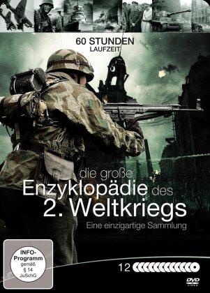 Die grosse Enzyklopädie des 2. Weltkriegs - Eine einzigartige Sammlung (Steelbox, 12 DVDs)