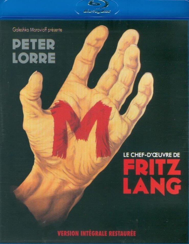 M - le maudit (1931) (Version intégrale restaurée, s/w)