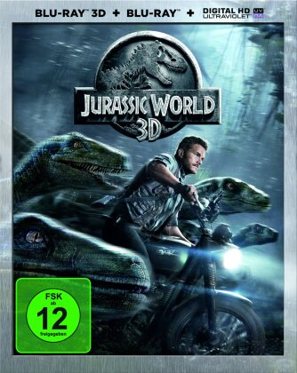 Jurassic World (2015) (Blu-ray 3D + Blu-ray)