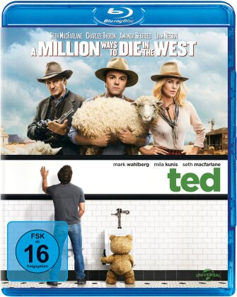 A Million Ways to Die in the West / Ted (2 Blu-rays)