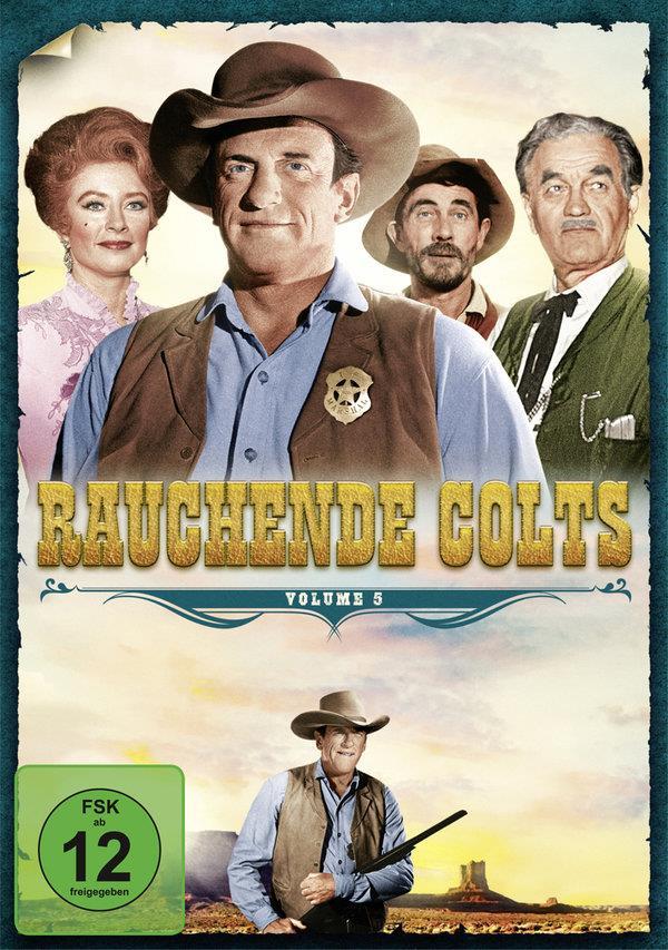 Rauchende Colts - Volume 5 (s/w, 6 DVDs)