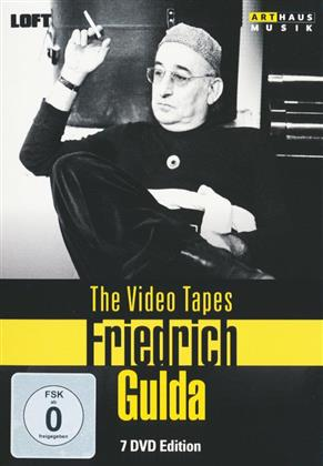 Friedrich Gulda (1930-2000) - The Video Tapes (7 DVDs)