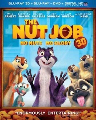 The Nut Job (2014) (Blu-ray 3D (+2D) + DVD)