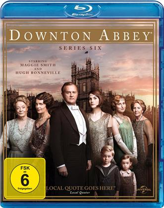 Downton Abbey - Staffel 6 (3 Blu-rays)