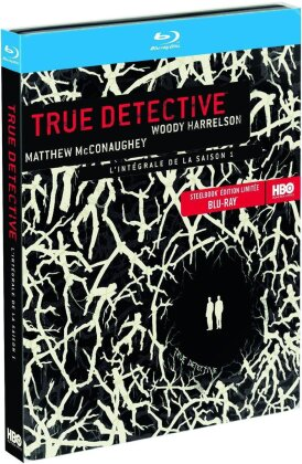 True Detective - Saison 1 (Limited Edition, Steelbook, 3 Blu-rays)