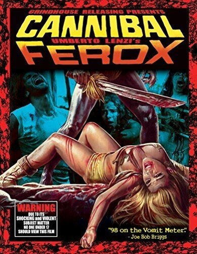 Cannibal Ferox - Cannibal Ferox (3PC) (W/CD) (1981) (Deluxe Edition, 2 Blu-rays + CD)