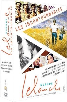 Claude Lelouch - Les Incontournables (Box, 4 DVDs)