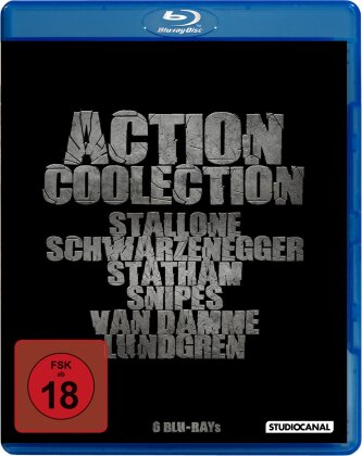 Action Coolection (6 Blu-rays)