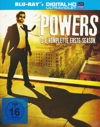Powers - Staffel 1 (3 Blu-rays)