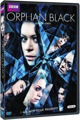 Orphan Black - Season 3 (BBC, 3 DVD)