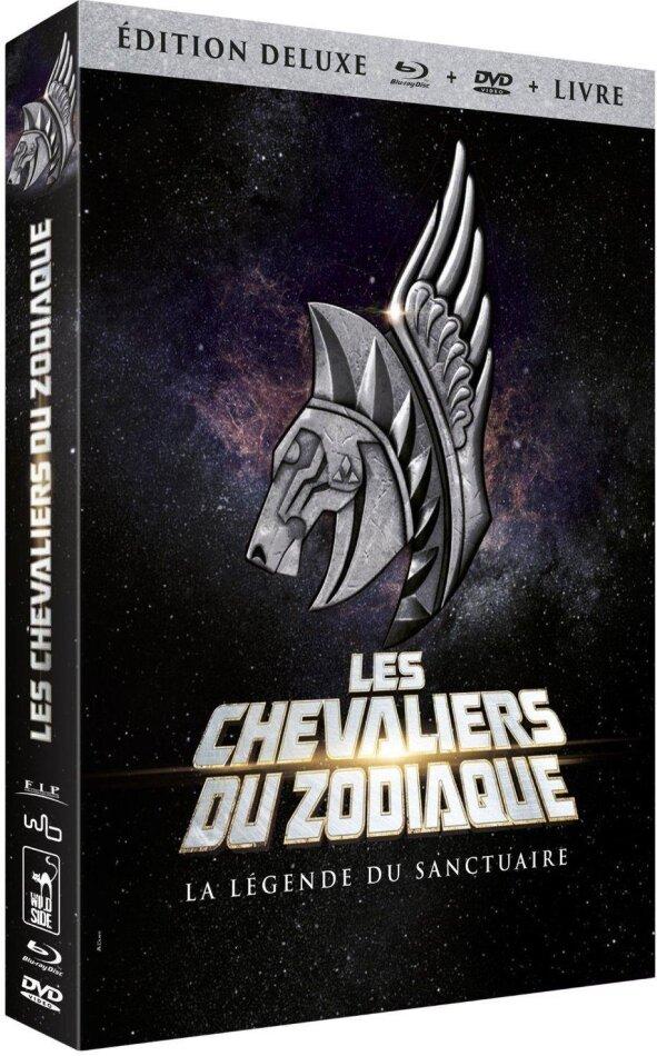 Les Chevaliers du Zodiaque - La légende du Sanctuaire (2014) (Deluxe Edition, Blu-ray + DVD + Buch)