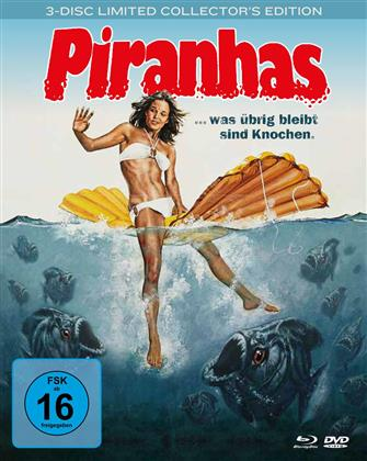 Piranhas (1978) (Limited Collector's Edition, Mediabook, Blu-ray + 2 DVDs)