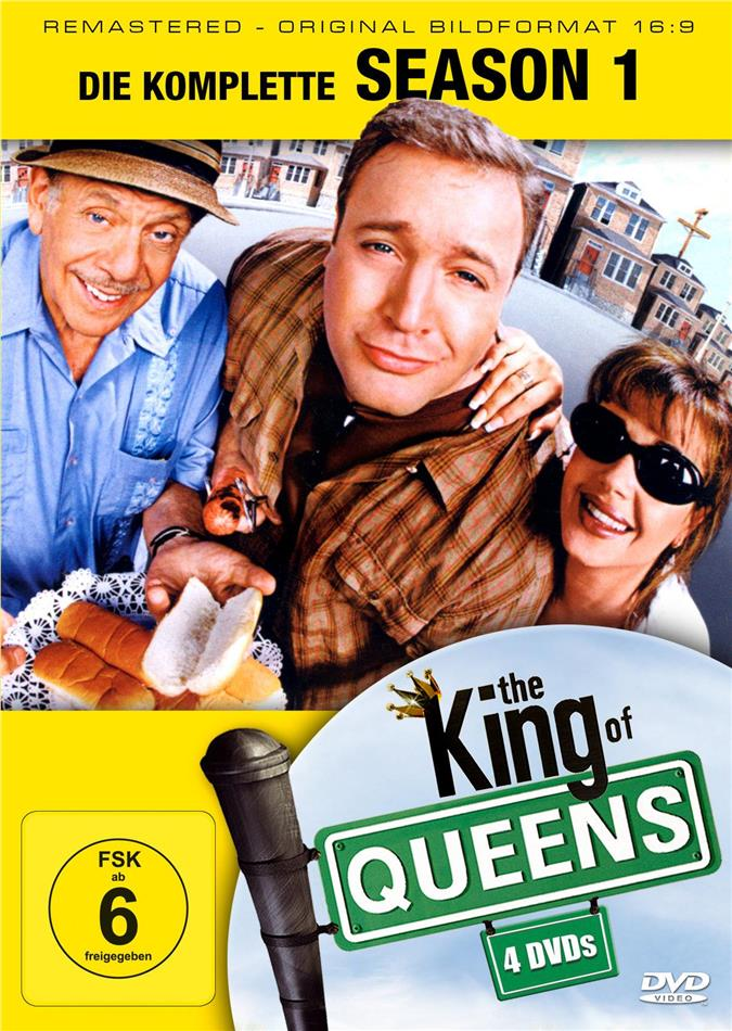 The King of Queens - Staffel 1 (Remastered, 4 DVDs)