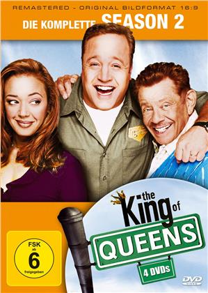 The King of Queens - Staffel 2 (Remastered, 4 DVDs)