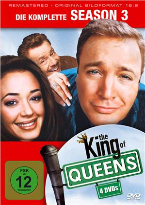 The King of Queens - Staffel 3 (Remastered, 4 DVDs)