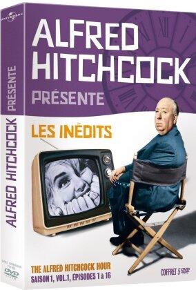 Alfred Hitchcock présente - Les inédits - The Alfred Hitchcock Hour - Saison 1, vol. 1, épisodes 1 à 16 (1962) (s/w, 5 DVDs)