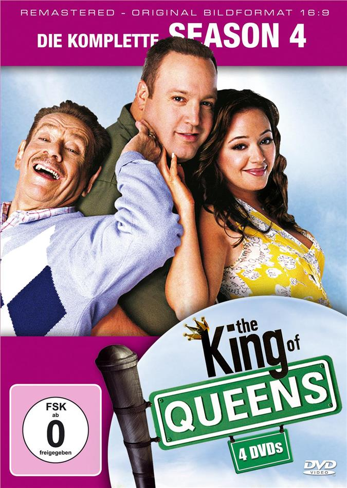 The King of Queens - Staffel 4 (Remastered, 4 DVDs)
