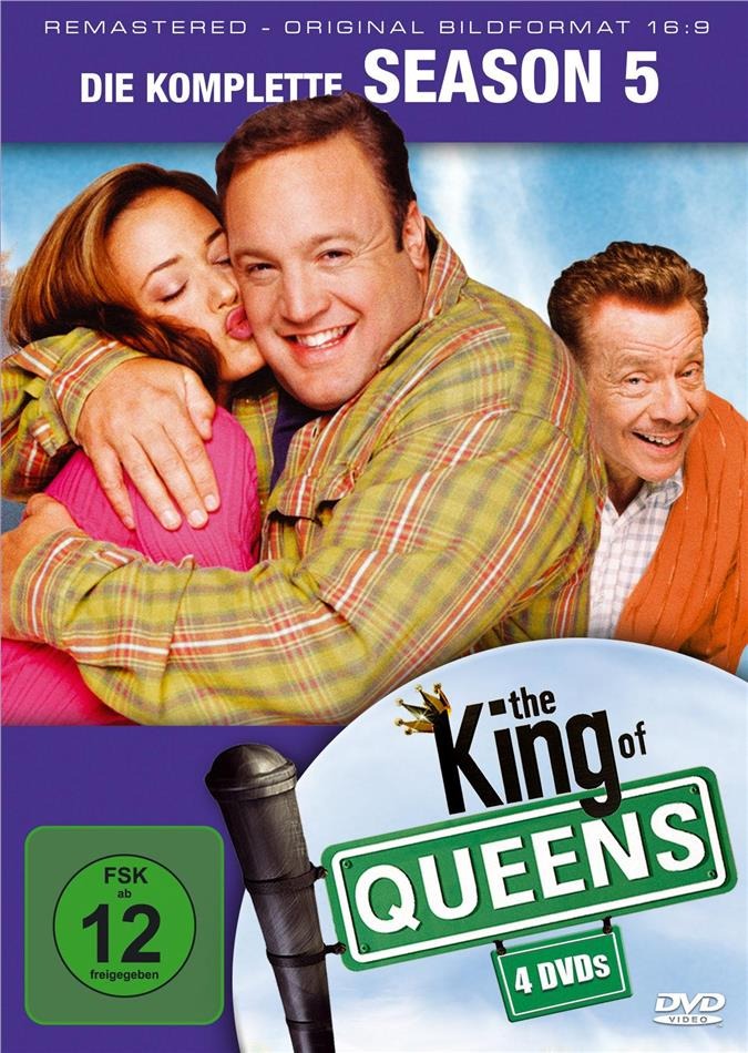 The King of Queens - Staffel 5 (Remastered, 4 DVDs)