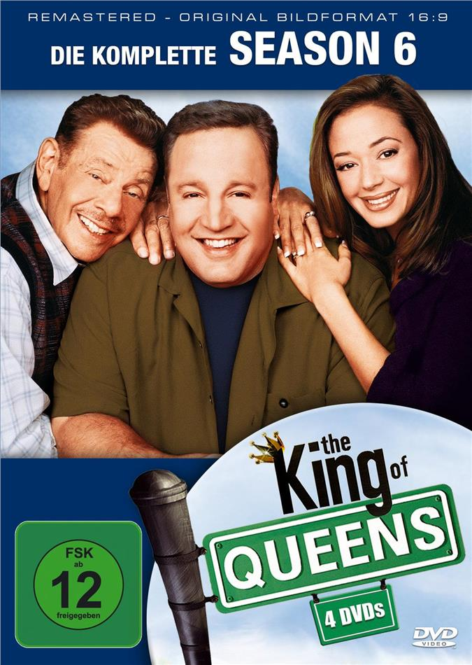The King of Queens - Staffel 6 (Remastered, 4 DVDs)