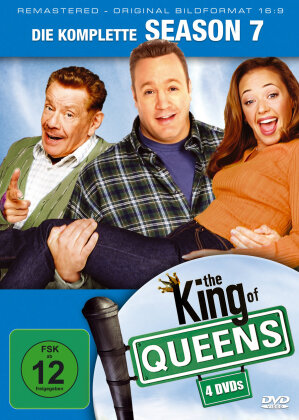The King of Queens - Staffel 7 (Remastered, 4 DVDs)