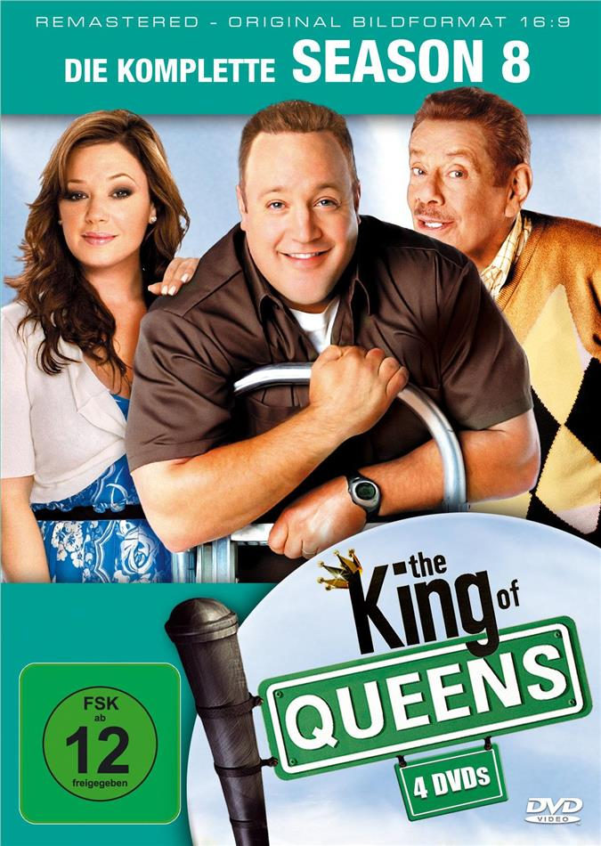 The King of Queens - Staffel 8 (Remastered, 4 DVDs)