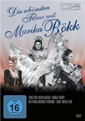 Die schönsten Filme von Marika Rökk (s/w, 4 DVDs)