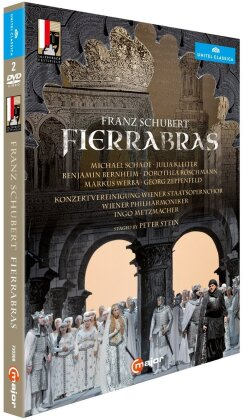 Wiener Philharmoniker, Ingo Metzmacher, Dorothea Röschmann, … - Schubert - Fierrabras (Salzburger Festspiele, Unitel Classica, C Major, 2 DVDs)