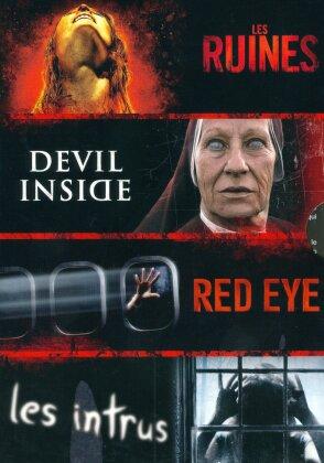 Collection Horreur - Les Ruines / Devil Inside / Red Eye / Les intrus (4 DVD)