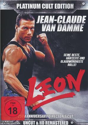 Leon - (Plantinum Cult Edition) (1990) (25th Anniversary Edition, Director's Cut, Uncut, 3 DVDs)
