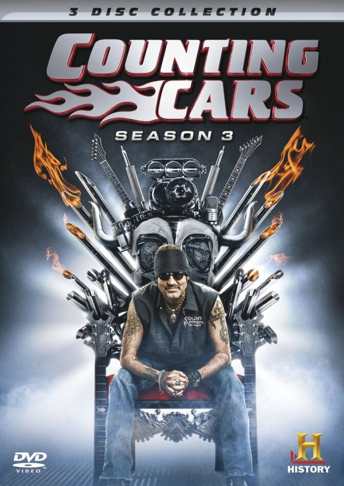 Counting Cars - Season 3 (3 DVDs)