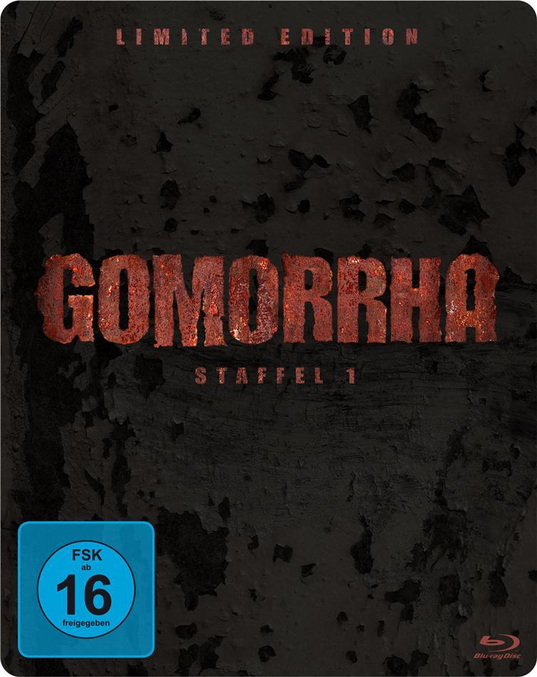 Gomorrha - Staffel 1 (Edizione Limitata, Steelbook, 4 Blu-ray)