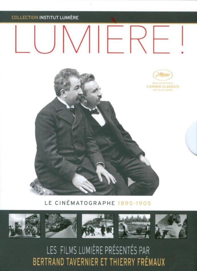 Lumière ! - Le Cinématographe 1895-1905 (2015) (s/w, 2 Blu-rays)