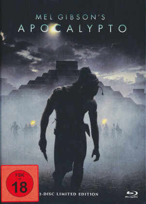 Apocalypto (2006) (Cover A, Limited Edition, Mediabook, Uncut, Blu-ray + DVD)
