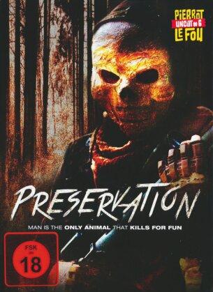 Preservation (2014) (Limited Edition, Mediabook, Uncut, Blu-ray + DVD)