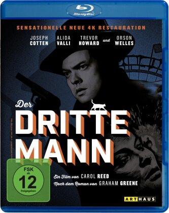 Der dritte Mann (1949) (Arthaus, 4K Mastered, s/w)