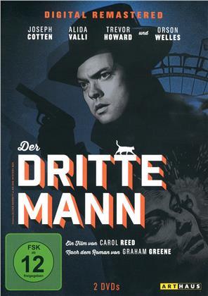 Der dritte Mann (1949) (Arthaus, s/w, Remastered, 2 DVDs)