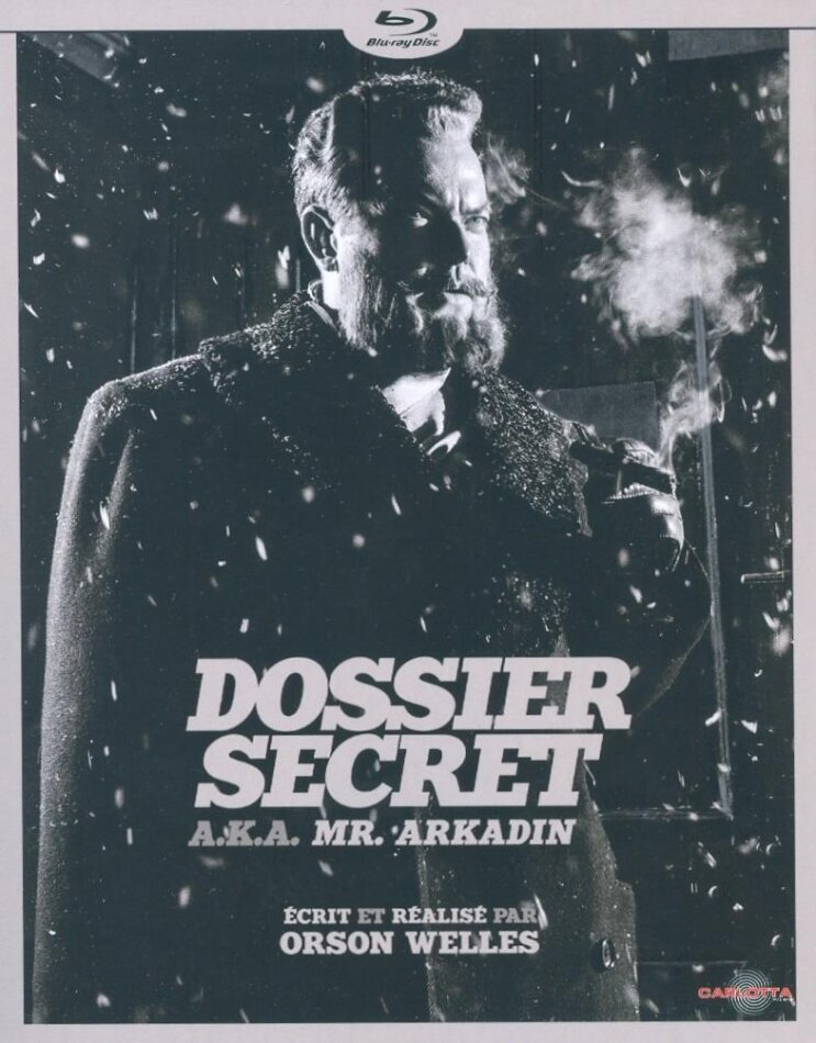 Dossier secret - A.K.A. Mr. Arkadin (1955) (s/w)